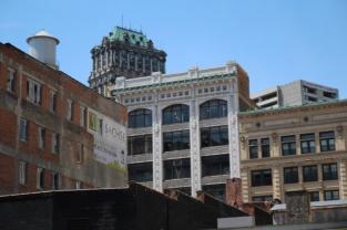 Downtown - empty buildings
